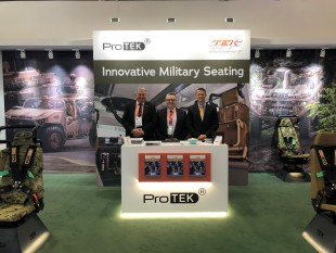 GREAT FEEDBACK FOR TEK MILITARY'S MOST SUCCESSFUL DSEI